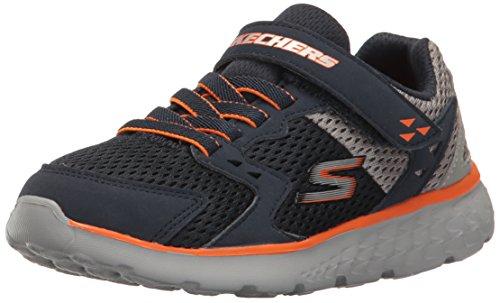 Skechers go run 400-proxo, formatori bambino, blu (navy/grey), 33 eu