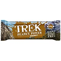 Trek Protein Energy Bar Peanut Power - Pack of 16 Bars
