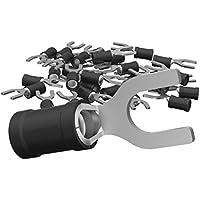 AUPROTEC Tenedor Cable Guantes 0,5–6mm² agujero de diámetro M3–M8teillisoliert PVC SV Cable de unión de cobre