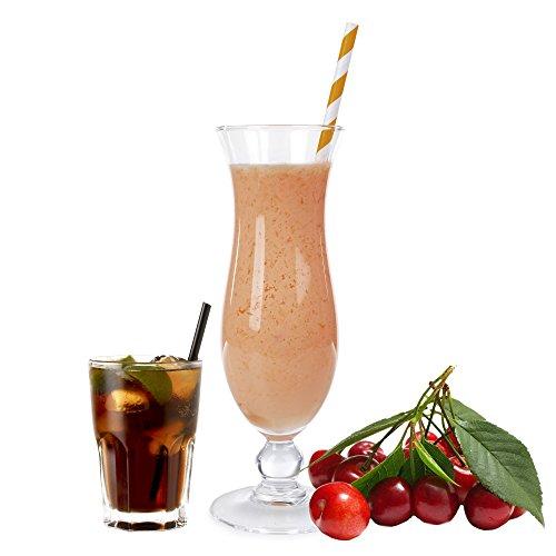 Cola Kirsch Geschmack Proteinpulver Vegan Proteinpulver mit 90% reinem Protein Eiweiß L-Carnitin angereichert für Proteinshakes Eiweißshakes Aspartamfrei (1 kg) (200 g)