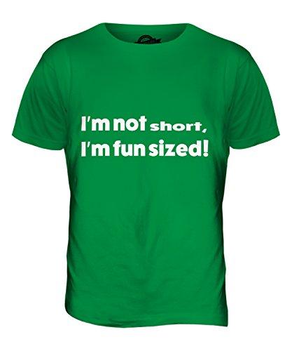 CandyMix Ich Bin Nicht Kurz Herren T Shirt Grün
