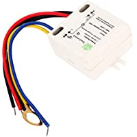 Hrph XD-609 4 Modo On / Off Sensor de interruptor táctil para lámpara de 220V LED