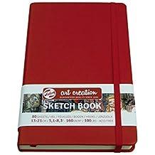 Esquí tzen libro, Sketchbook, 80hojas, 9X14cm, gebunden