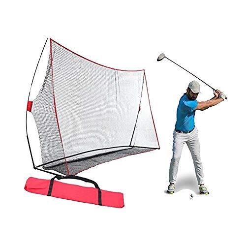 HipHopSport 10x7ft Baseball Replacement Pitchback Net, Golf Driving Netz, One Pitch Return, Ball Return Training Screen