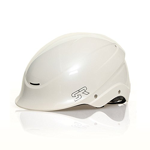 41HbWqDgOXL. SS500  - Shred Ready Standard Helmet - One Size - Pearl White