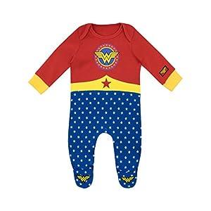 Wonder-Woman-Pijama-Entera-para-Nias-Bebs-Wonder-Woman