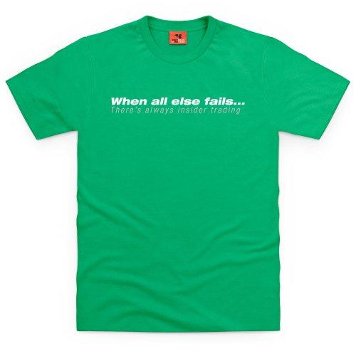 Square Mile Insider Trading T-Shirt, Herren Keltisch-Grn
