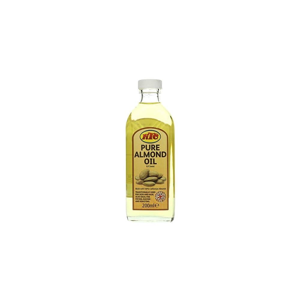 Ktc Almond Oil 200 Ml Mandell Indisches Lebensmittel Krperpflege