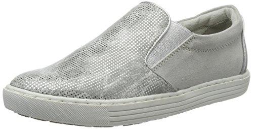Marco Tozzi Damen 24613 Slipper Silber (Silver Comb 948)