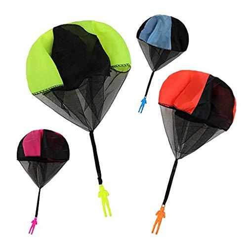 Juguetes educativos para niños,CHshe❤❤,Juguetes educativos para niños Juego Mano Juguete para lanzar al aire libre para niños, paracaídas, mini (Como se muestra)