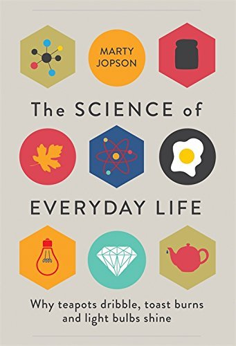 The Science of Everyday Life: Why Teapots Dribble, Toast Burns and Light Bulbs Shine by Marty Jopson (September 17, 2015) Hardcover