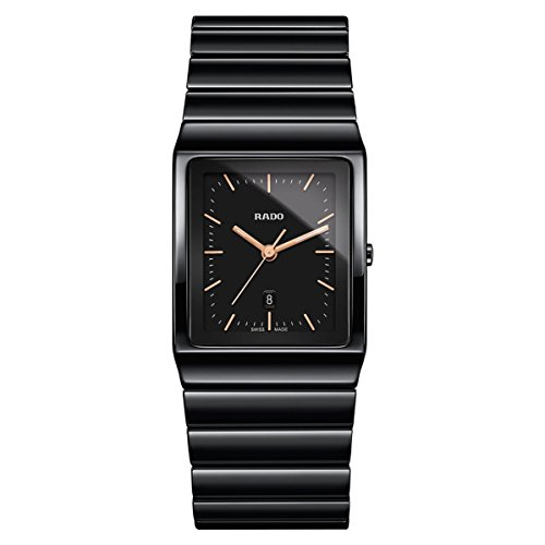 Rado Women's Ceramica Black Ceramic Case Quartz Analog Watch R21700162
