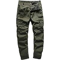 Logobeing Los Hombres del Ejército Militar Táctico Casual Combaten Pantalones de Trabajo Al Aire Libre Pantalones Tipo Cargo