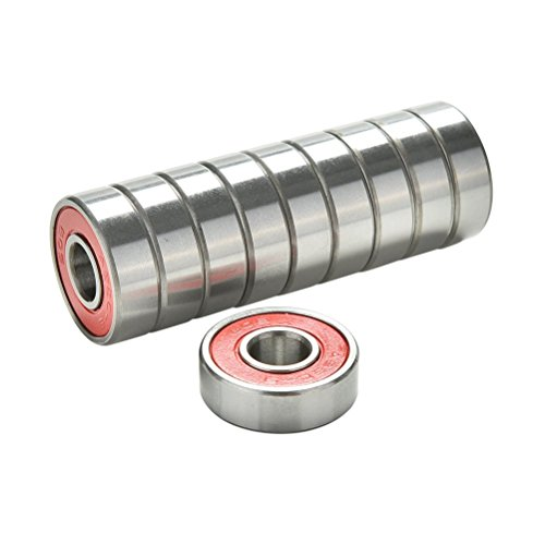 uhomey-10-pcs-red-abec-9-high-performance-skate-scooter-skateboard-wheel-bearings