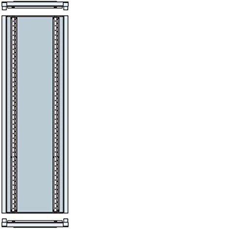 ABB-ENTRELEC - COLUMNA ADAPTADOR/A PAVIMENTO ARTU L 1800X300X195MM-L