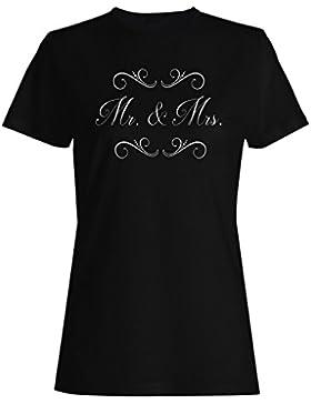 Señor. &Amp; Señora camiseta de las mujeres n426f