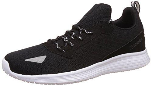 Reebok Royal Shadow, Sneaker Basses Homme Noir (Black/white/matt Silver)