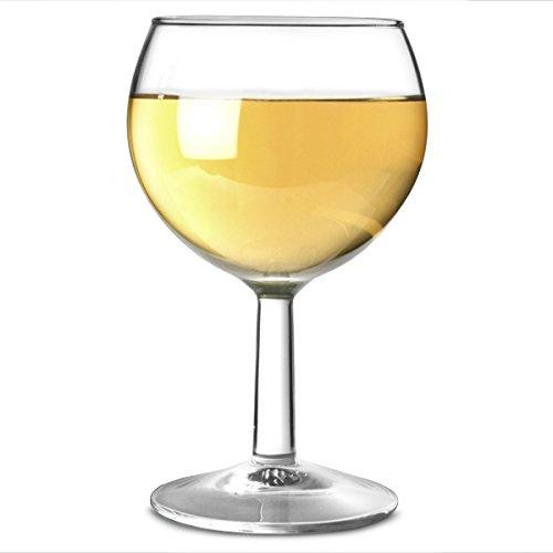 Arc International Ballon-Weingläser-Set, gehärtetes Glas (Arcoroc Glassware), 250ml, 12 Stück