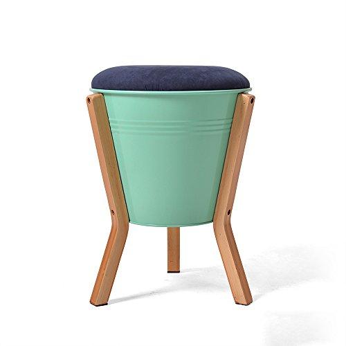 Schuh-speicher-bank (Simple Storage Hocker Ändern Sie Schuh-Hocker Einfache moderne niedrige Hocker-Speicher-Stuhl-Art- und Weisekreative kleine Hocker-Speicher-feste hölzerne Hocker-Bank (Farbe wahlweise freigestellt) (30 * 43cm) Kann auf dem Hocker sitzen ( Farbe : A , größe : 3# ))