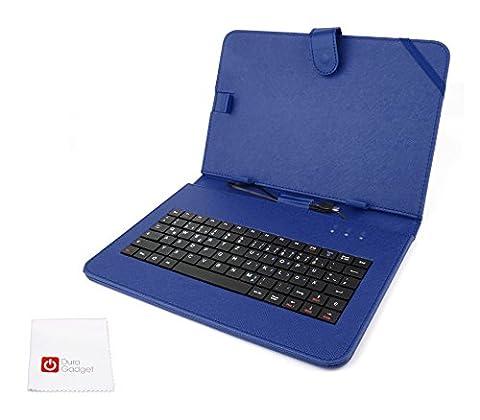 Deutsche QWERTZ-Tastatur und blaues Case für Odys Space 10 Plus