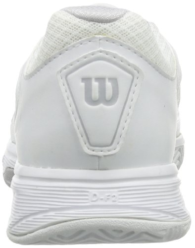 Wilson  RUSH 2 W STEEL GREY/WHITE/NEW FUSHIA, Baskets de tennis femme Multicolore - Mehrfarbig (Steel Grey/White/New Fuchsia)