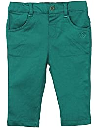 Beebay Infant-girl Cotton Satin Trouser (Dark Green)
