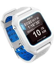 Avid Fit Runner 201 - Smartwatch para deporte - blanc y azul