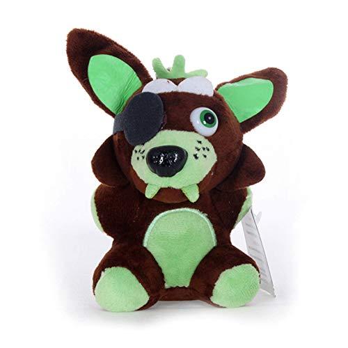 Unbekannt Plüschtier Five Nights at Freddy's Fazbear Plush Plüsch Spielzeug Puppe Geschenk Für Kinder(F)