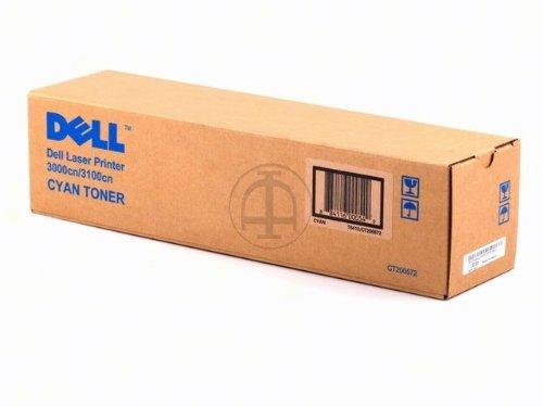 Preisvergleich Produktbild Dell 593-10064 3000cn, 3100cn Tonerkartusche cyan Standardkapazität 2.000 Seiten 1er-Pack