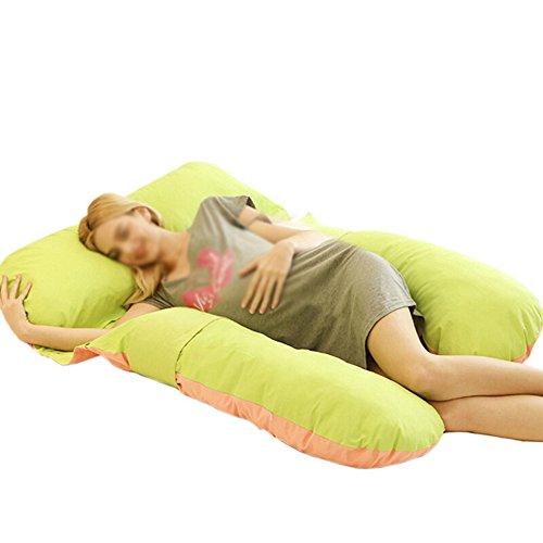 SPQRSXC Oreiller d'allaitement pour femmes enceintes, coussin de couchage pour soulèvement de l'estomac, oreiller pour dormir à la taille, oreiller en forme de G, coussin de soutien pour dormir, lavab