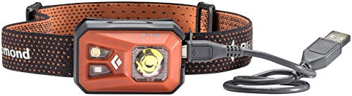 Black Diamond ReVolt Headlamp Black / Wiederaufladbare Stirnlampe mit Rotlicht, Blinklicht und dimmbarer LED / Wasserdicht nach IPX8, max. 300 Lumen - 2
