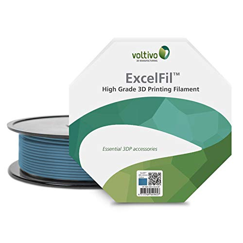 Ef-abs-300-trans Voltivo Excelfil High Grade 3d Printing Filament Abs 3mm Clear 3d Printers & Supplies