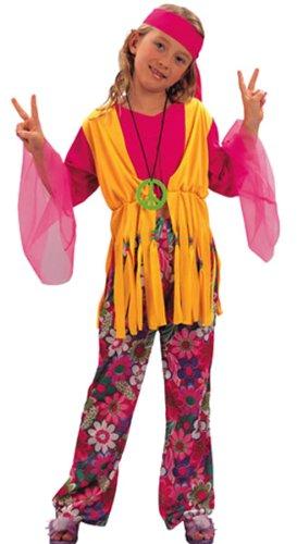 Kostüme beatnik Mädchen 10-12 Jahre (Euro Carnavales Kostüme)