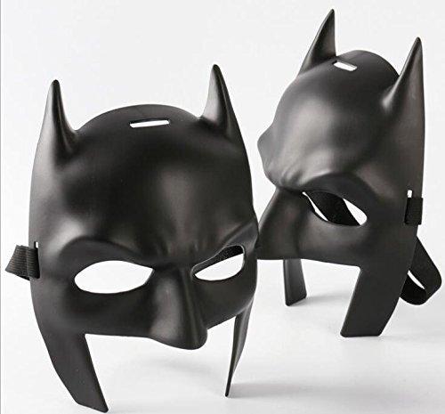 Para hombre calidad Midnight negro Batman estilo Venetian Masquerade Carnival Party Eye Mask