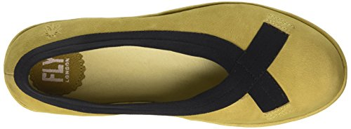 FLY London BOBI, Ballerines femme Jaune (Cupido Ocre)