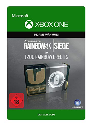 Tom Clancy's Rainbow Six Siege Currency pack 1200 Rainbow credits | Xbox One - Download Code