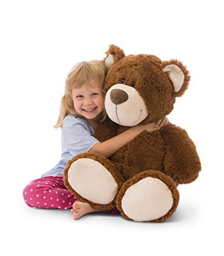 NICI 41950 My Teddy - Orsacchiotto di Peluche, 80 cm, Colore: Marrone