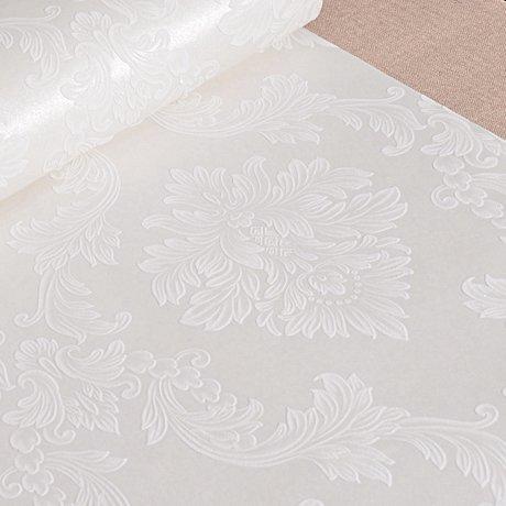 Preisvergleich Produktbild Dunkel Blau ab Wallpaper 3D Europäische wasserfeste Tapeten Pure White