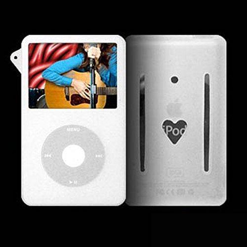 Silizium Haut (weiß) + Armband für den iPod Video 5G Ipod 5g Armband