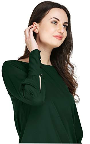 AELO Women's Crepe Full Sleeve T...