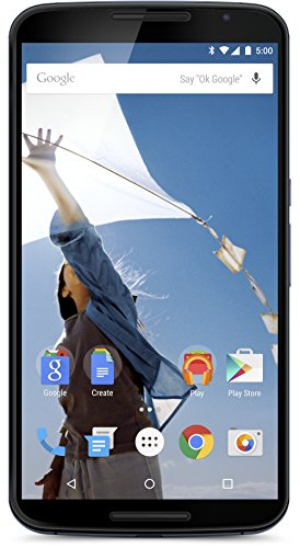 Motorola Nexus 6 Smartphone (6 Zoll (15,2 cm) Touch-Display, 32 GB Speicher, Android 5.0 Lollipop) blau
