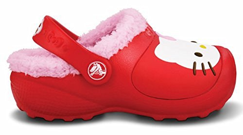 Crocs Shoes Kids Hello Kitty. Non-Slip with Secure Hold. Keep in Warm