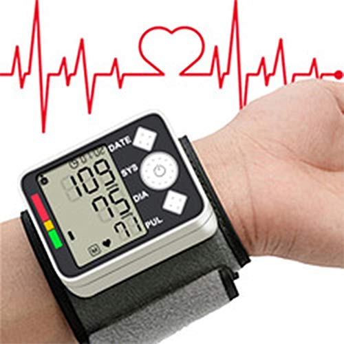 Blutdruckmanschette, Health Care Messung Blutdruckmessgerät Digital Monitor Handgelenk Automatische Phys Magnetometer Für Home School