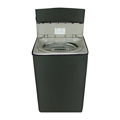 Glassiano Green colored washing machine cover for Panasonic 6.2 kg NA-F62B5HRB/NA-F62B3HRB Fully-Automatic Top Loading  available at amazon for Rs.399