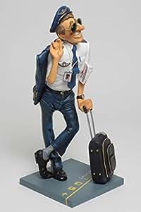 Le pilote Comic Art Figurine de Guillermo Forchino 16 cm de haut