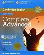 Complete Advanced Student's Book Pack (Student's Book with Answers with CD-ROM and Class Audio CDs (2)