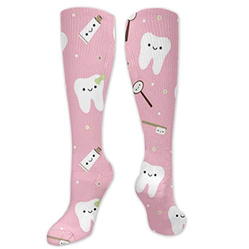 NiWCGP Dental Fabric Zahnpasta Herren Lustige Bunte Socken,Herren witzige Strümpfe, Fun Gemusterte Muster Socken, Neuheit Sneaker Socken