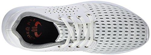 Tamboga 1011, Sneakers basses mixte adulte Weiß (White 03)
