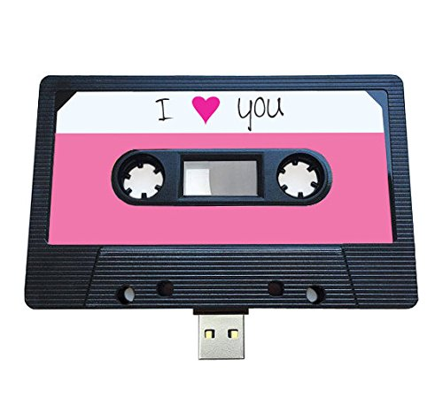 USB Mixtape Retro Quirky Gift Music Cool Cute Love Present Boyfriend Girlfriend 80s 90s Gadget Geek Office Novelty Birthday Wedding