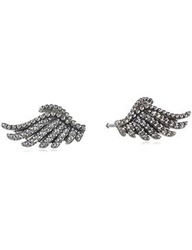 Pandora Damen-Ohrstecker Schimmernde Phoenixfeder 925 Silber Zirkonia transparent - 290581CZ